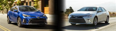 Toyota Corolla Vs Camry 2017 Toyota Corolla Vs Camry Specs And Prices