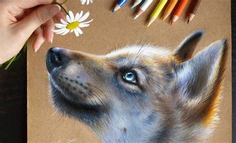 imagenes opticas tiernas tiernas ilustraciones hiperrealistas de animales hechas