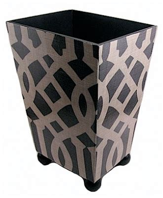 Decorative Instincts At Etsy by Etsy Find Of The Day Decoupaged Trash Bins