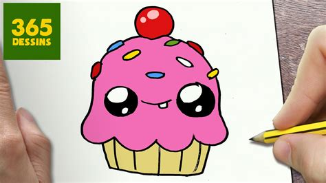 Comment Dessiner Cupcake Kawaii 201 Tape Par 201 Tape Dessins