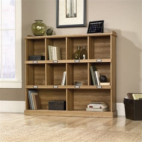 sauder bookcase oak finish bookcase in scribed oak finish 414724