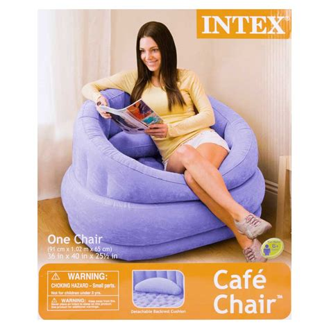 blow up armchair purple inflatable air blow up arm chair couch sofa seat lounge armchair portable ebay