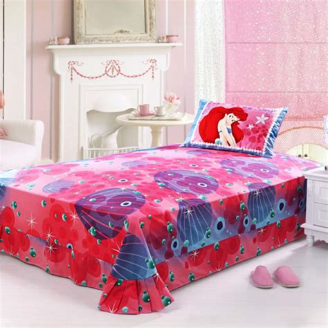 twin size bed sheets ariel princess bedding set twin size ebeddingsets