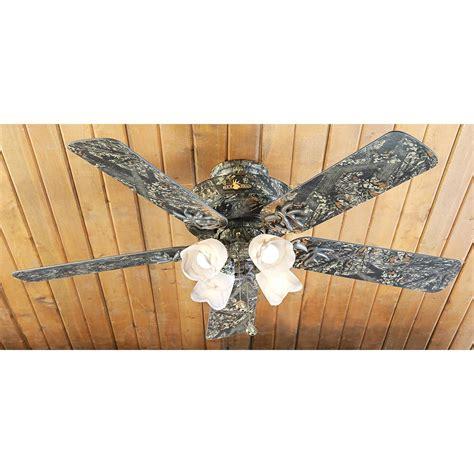 52 quot buckhead ceiling fan camo 191598 lighting at