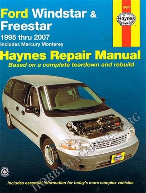free auto repair manuals 2003 ford windstar engine control 1995 ford escort repair manual pdf