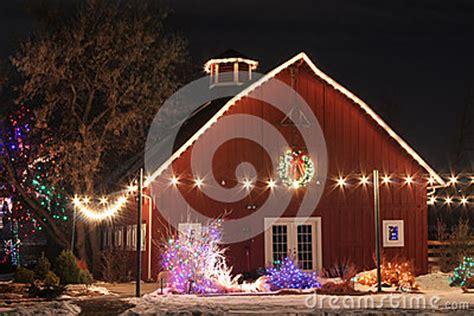Chatfield Botanic Gardens Lights On The Farm Stock Photography Image 31699062
