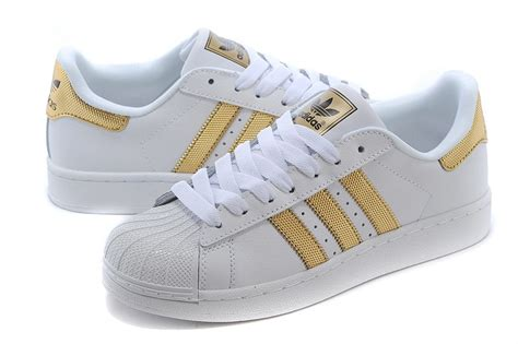 gold adidas sneakers adidas shoes white and gold