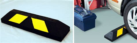Tire Stoppers For Garage by Safety Store Traffic Safety Products Supplies