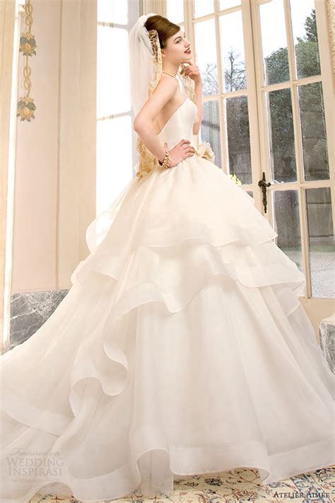 Sabrina Dress Atelier atelier aim 233 e bridal 2014 pre collection wedding