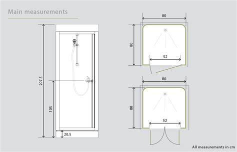 kinedo epsilon watertight saloon door shower cubicle pod
