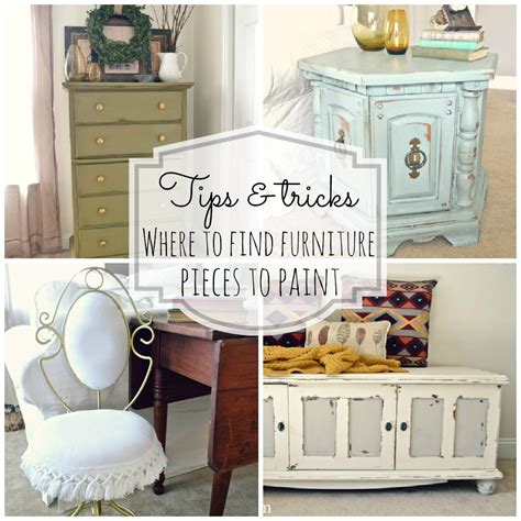 where to find furniture to paint lizmarieblog