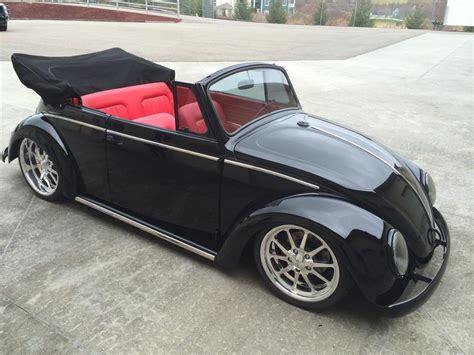 volkswagen beetle modified black 1966 volkswagen beetle custom convertible 181709