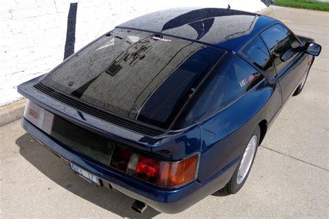renault alpine gta just listed 1990 renault alpine gta turbo v6 automobile