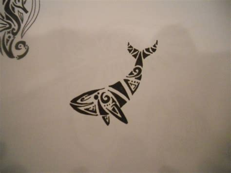 tribal tattoos killer whale simple orca