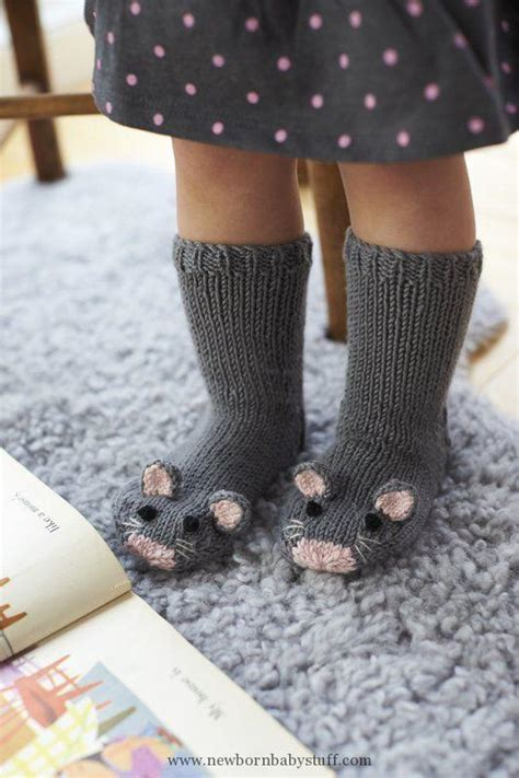 diy sock mouse baby knitting patterns diy knit mice socks how