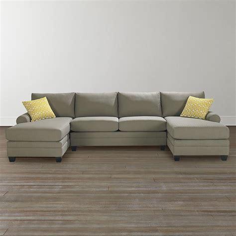bassett cu2 sectional bassett 3851 csect cu 2 double chaise sectional discount