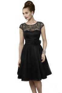 Lace 50s style short prom dress black dresses always in fashion photo