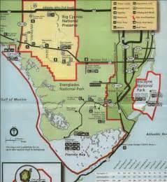 everglades national park florida map everglades