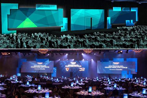 event design renderings set design staging connections