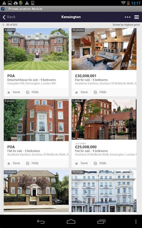 Property Records Uk Primelocation Property Search Uk Houses And Flats Android Apps On Play