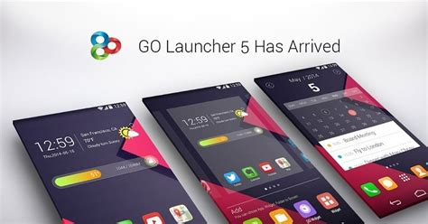 android themes no launcher go launcher for android get s a big update with new ui and