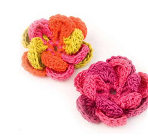 free patterns and instruction on making flower hair clips 10 beautiful ways to crochet a flower skip to my lou