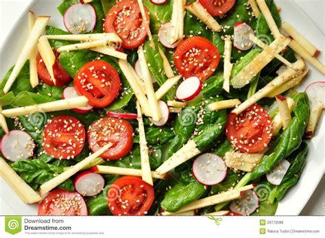 Tudor Cottage Plans vegan healthy food spinach apple and sesame salad
