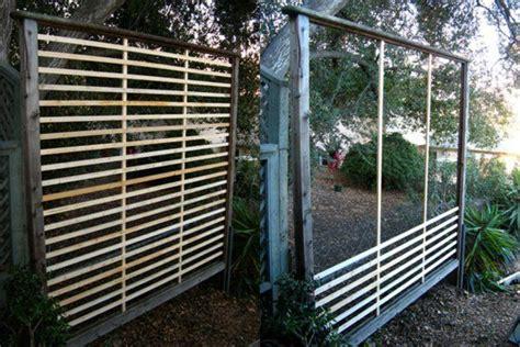 terrasse holz unterkonstruktion selber bauen sichtschutz
