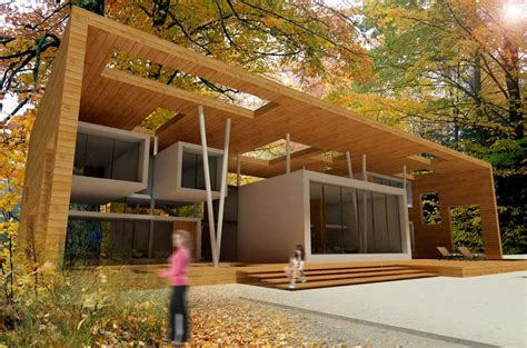 Architectural Plans For Houses Four Seasons House Iranian Residence Chaboksar Guilan