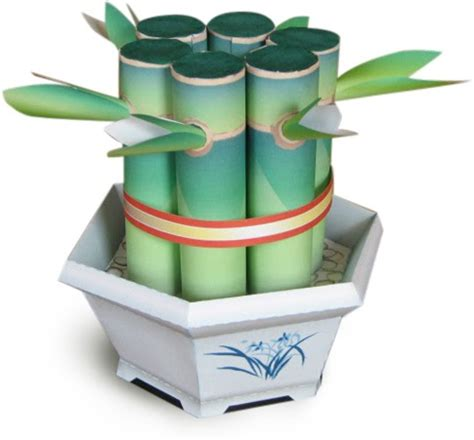 How To Make Paper Out Of Bamboo - make a paper bamboo plant how about orange