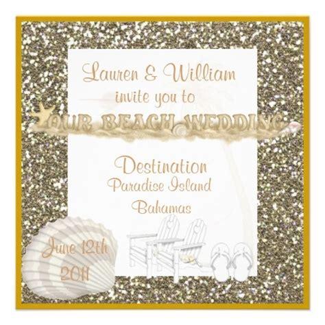 wedding invitations with crystals wedding invitations beaches