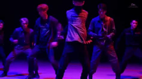 tutorial dance exo monster dance gif find share on giphy