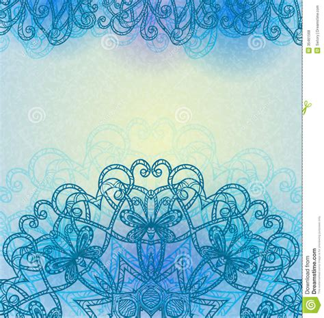Hand Drawn Abstract Background Royalty Free Stock Photos