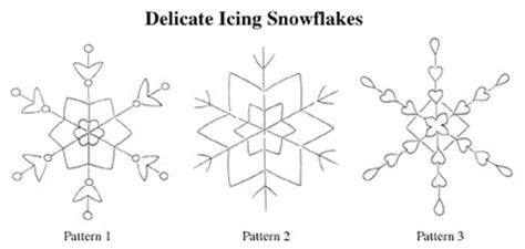 19 awesome snowflake template for royal icing images delicate icing snowflakes recipe christmas recipes