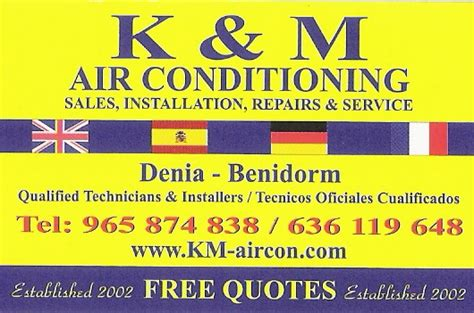 K And M Appliance Repair by K M Electrodomesticos Air Conditioning And Domestic