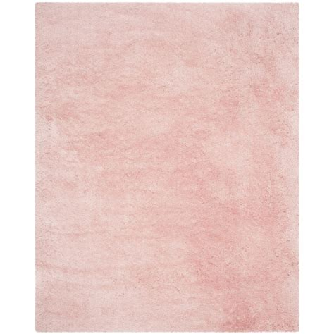 Safavieh Hand Tufted Pink Polyster Shag Area Rugs Sg270p Pink Rug