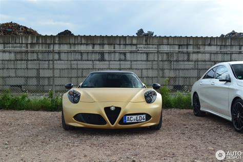 Alfa Romeo Forums by Gold 4c Coup 233 Alfa Romeo 4c Forums