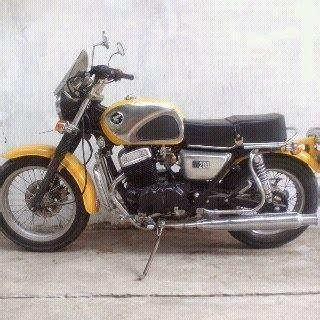 Moge Sanex 250cc Th 2000 jual motor modif model cb bandung lapak mobil dan
