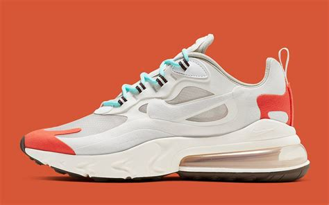 Nike Air Max 200 React by Available Now The Nike Air Max 270 React Quot Light Beige Chalk Quot Tacks On Translucent Uppers