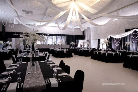 Wedding Decor by Dar's Decorating   with grey and silver