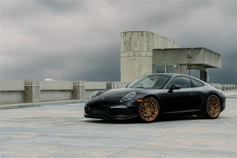 modified porsche 911 black porsche 911 carrera adv7r m v2 cs series wheels