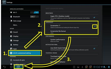 how to take a screenshot on android tablet asus transformer infinity tf700t screenshot function