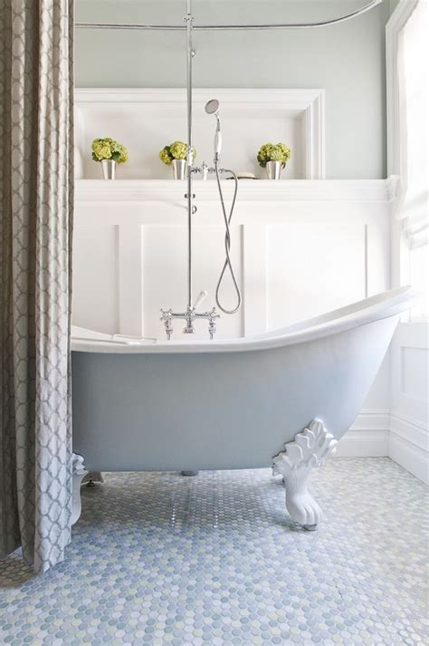 Modern Bathroom With Clawfoot Tub Clawfoot Tub A Classic And Charming Elegance From The