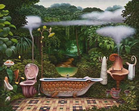 surreal  mind bending works  polish painter jacek