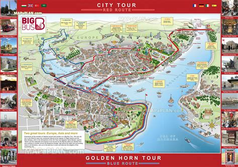 printable map istanbul maps update 27001897 istanbul tourist attractions map