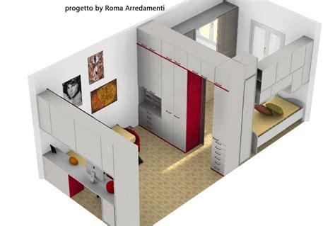 divisori per armadi armadi divisori a roma due camerette in una stanza