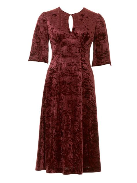 sewing pattern velvet dress velvet dress 12 2016 118b sewing patterns burdastyle com