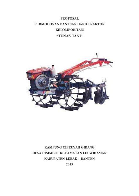 Format Proposal Hand Traktor   format proposal hand traktor proposal hand traktor ok
