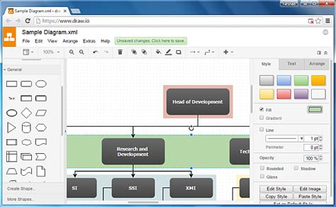 free flowchart software like visio draw io free drawing software flowchart maker