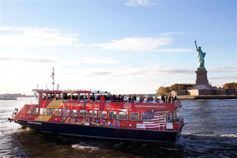 nyc boat tours hop on citysightseeing new york 174 hop on hop off ferry tour